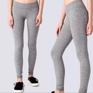 Ivivva by lululemon gray heathered stretch legging